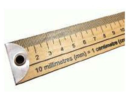 Regla Madera 100 cm / 40