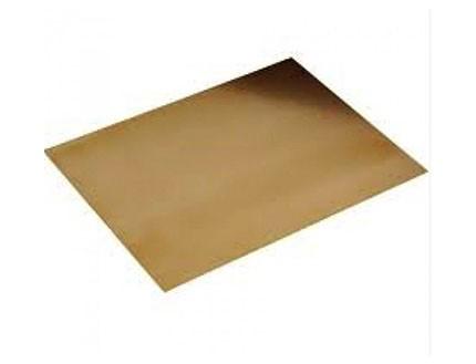 Tapate metálico dorado de grabado en relieve- Embossing