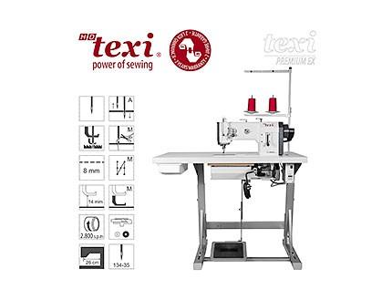 Máquina Industrial Triple arrastre Texi HD Forte UF Premium EX