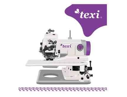 máquina de puntada invisible Texi