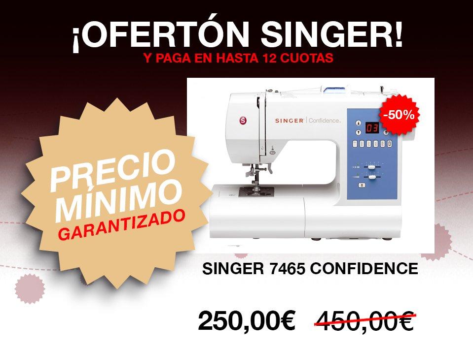 Máquinas de coser Singer - Mejor precio Garantizado