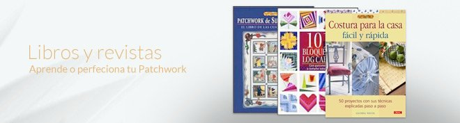 Librros y revistas sobre patchwork comprar