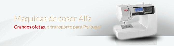 precos maquinas de coser alfa portugal