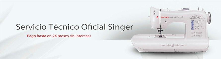 Máquinas de Coser Singer, servicio oficial